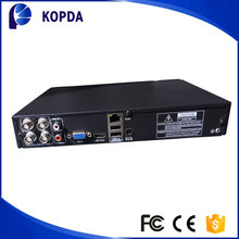 4ch 720P cloud technology h.264 cctv 4ch dvr cms free client software with VGA USB support 3G WIFI