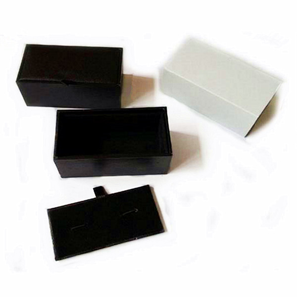 Delicate Purple Leather Paper Box Cufflink Jewellery Packing