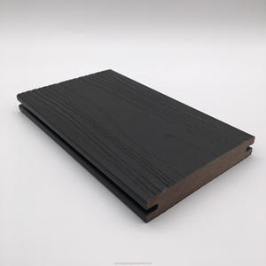 composite decking board plastic floors co-extrusion deck for outdoor use