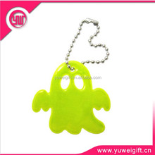 Chinese manufacturer promotional gifts custom reflective pvc key chain