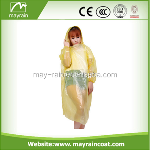 Waterproof Hooded Light weight Rain Poncho