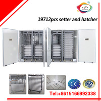 XS-19800 CE approved large egg incubator