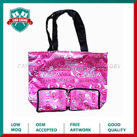 2015 Eco-friendly foldable polyester bag for sale