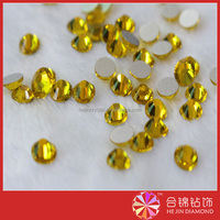 Crystal Clear Flatback chaton Hot Fix Rhinestone Glass Strass Hotfix Rhinestones