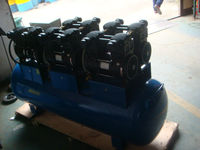 Low Noise Oil Free Air Compressor 7 HP 300L