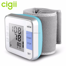 IHB checking/WHO/talking heart rate Digital wrist blood pressure machine monitor
