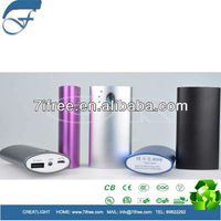 2013 New 5600mah Rubber finishing portable power bank for Ipad mini ipod iphone Samsung S4 htc blackberry etc
