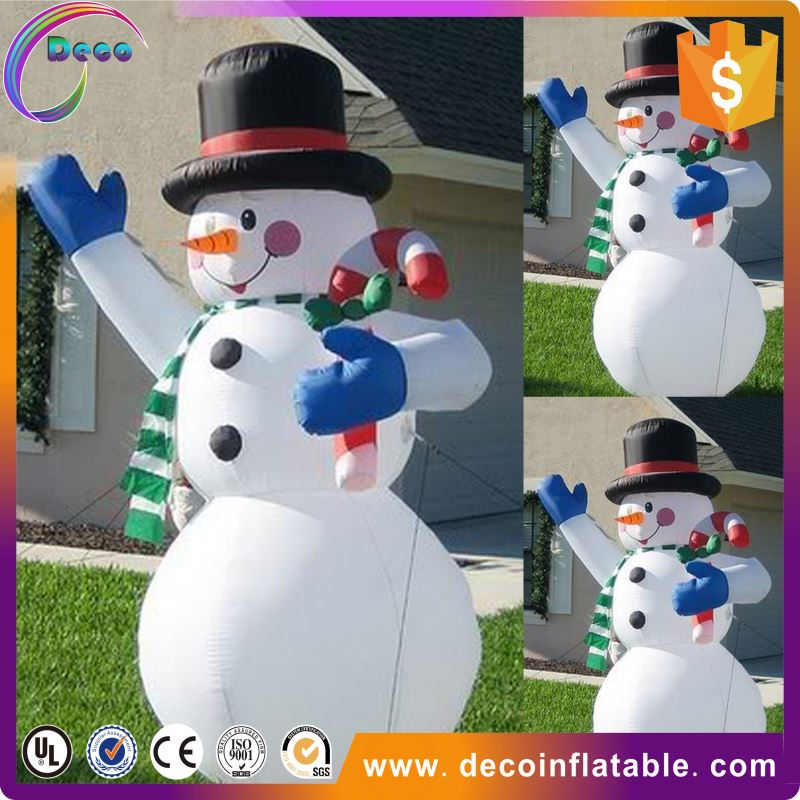 2014 Inflatable Christmas Decorations , Inflatable Santa Claus , Inflatable Snowman for Sale