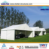 2013 New Style Motorcycle Storage Tent 8X12m,10X15m,12X18m Made of Aluminum Alloy & PVC Coated Cover Used for Over 20 Years