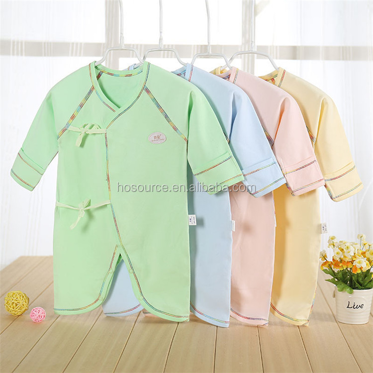 New Fashion Baby Romper Long Sleeve 100 Organic Cotton Baby Rompers