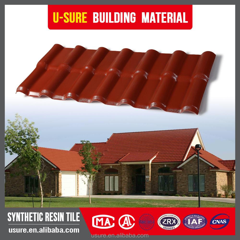anti-corrosion plastic spanish roof tile color roof philippines