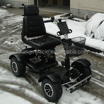 Mini size of four wheels electric golf buggy
