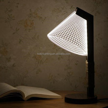 Christmas gift fancy table lamp stereoscopic bedside led table lamp