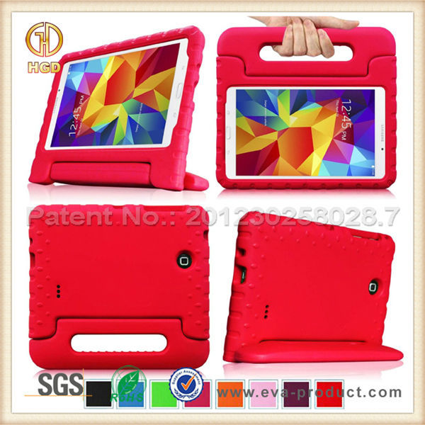Kid Proof 7 Inch Tablet Rubber Cover Case for Samsung Galaxy Tab 4