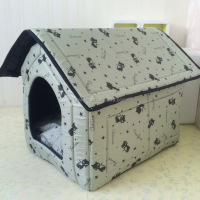 Excellent quality crazy selling removable and washable house folding large dog house pet cage kennel
