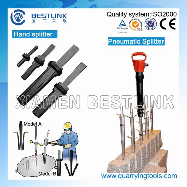 Various Size Quarrying Stone Splitting Wedge