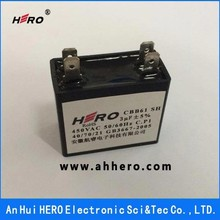 CBB61 Electric Fan Capacitor 1.2uF 450VAC SH Capacitor 3uF