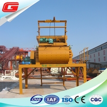 JS500 Lift Concrete Mixer with Double Shaft and Skip Hoist Hydraulic Hopper