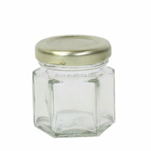 High Quality Low Price Swing Top Food Glass Honey Jar With Metal Lid
