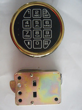 Factory direct round gun cabinet electronic code lock, safe electronic code lock, bank safe lock