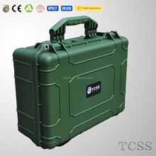 super high impact resistance shockproof environmental waterproof gun case handle