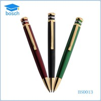 Short novetly ballpoint pen metal pen clips promotional metal pen