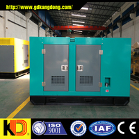 New design 15kw used silent diesel generator for sale