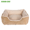 wholesale soft plush polyester fleece filling dog bed