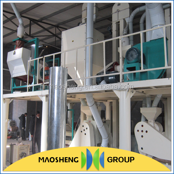 China made flour mill equipment canada