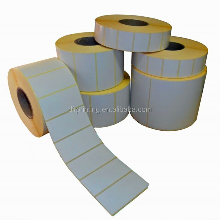 Cheap roll direct thermal label;white blank label;clothes barcode label
