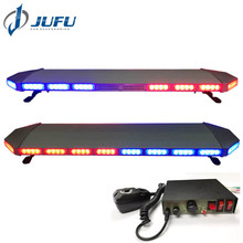 47 inch super slim vehicle roof light bar police truck light bar with siren and radio