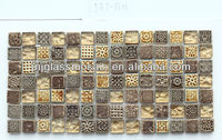 Quality Guarantee Direct Manufacturer Wall Tile Glass Mosaic