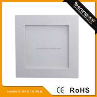 led light panel price list led downlight and panel light