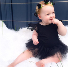 D0005 New product baby girl party dress children frocks designs lace sweet baby party dress