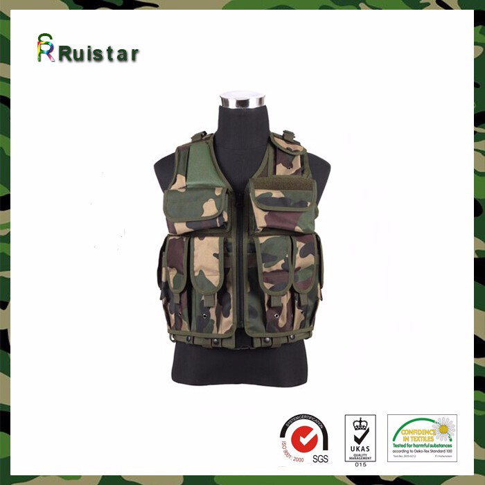 Camouflage Military Tactical vest