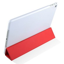 Hotest Four Folding Flip Leather Case for iPad Air 2 smart cover flip case