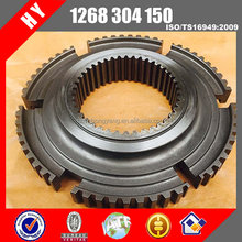 Yutong and Higer bus gearbox 1st 2nd synchronizer hub gear 1268304150 for S6-90 transmission parts