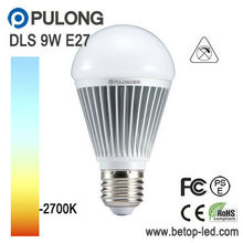 Solar LED Bulb Light E27 E26 B22 9W 800 lumen 12V / 24V