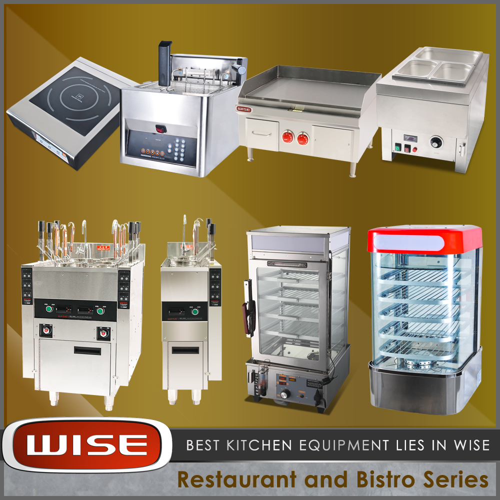 WISE Kitchen Stainless Steel Commercial Kitchen Equipment for Restaurants and Hotels