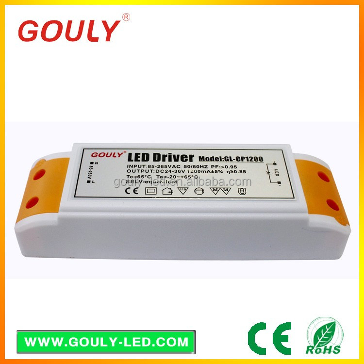 led power supply manufacturer,GL-CP1200 48w 24v industrial power source