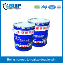 Non-cured rubber bitumen coating/paint for waterproofing