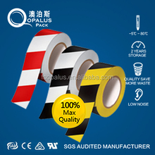 Red And White Safety Striped Tape