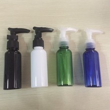 New arrival essential oil lotion 50ml pump sprayer amber PET bottles for chemicals with pump spray bottles