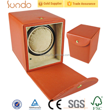 2016 luxury motor automatic wooden watch winder