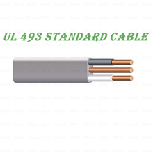 UL 493 standard Cable 600V UF-B Cable with PVC Insulation (Nylon Jacket) PVC Overall Jacket Moisture /Sunlight /fungus Resistant