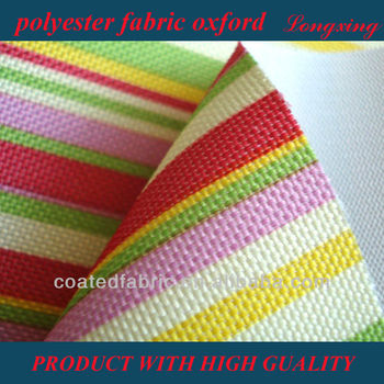 polyester fabric oxford for tent high quality
