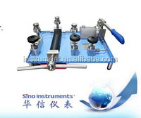 Manual Hydraulic pressure test bench