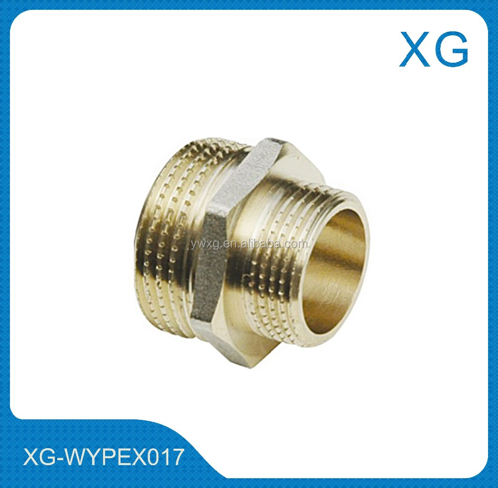 Stainless Steel Hex Pipe Nipples /Brass Reducing Nipples/Brass compression HEX pipe nipples