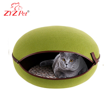 Comfy cat cave outdoor cat house