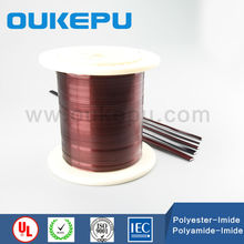 bulk packed Flat Glassfiber Covered Magnet Wire manufactured in China
